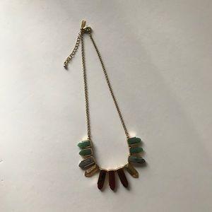 INC Multi-colored Stone Necklace